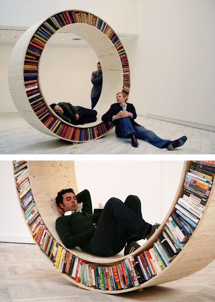 The Archive Book Wheel